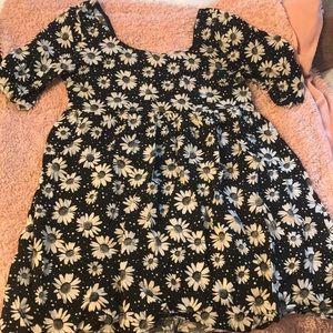 Monteau Babydoll Floral Tunic